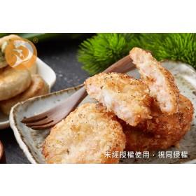 【鴻綺水產-熱銷推薦】蝦仁花枝排(新)(200±3%g/4片/份) 特價中
